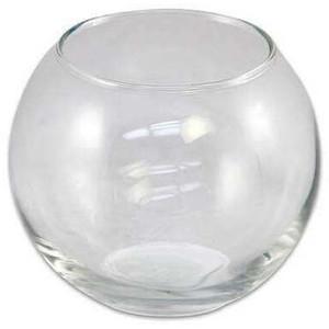 Szlifowana kula szklana o średnicy 45 cm i pojemności 45 litra. Sprawdzi się jako zbiornik dla roślin wodnych bądź małych organizmów żyjących w środowisku wodnym.